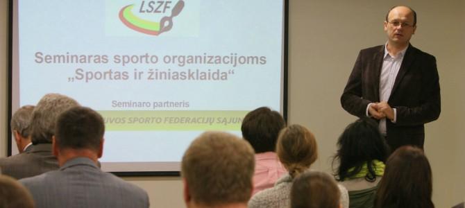 LSŽF surengė protų mūšį ir seminarą