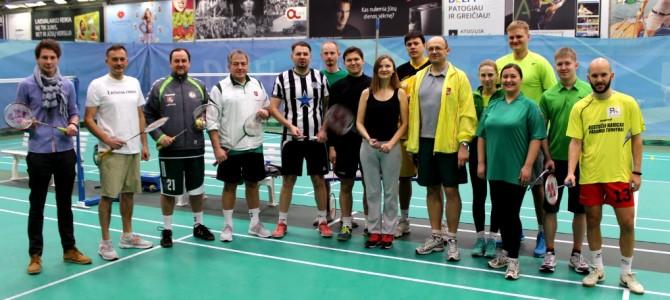 Sporto žurnalistų badmintono čempionate – naujas nugalėtojas