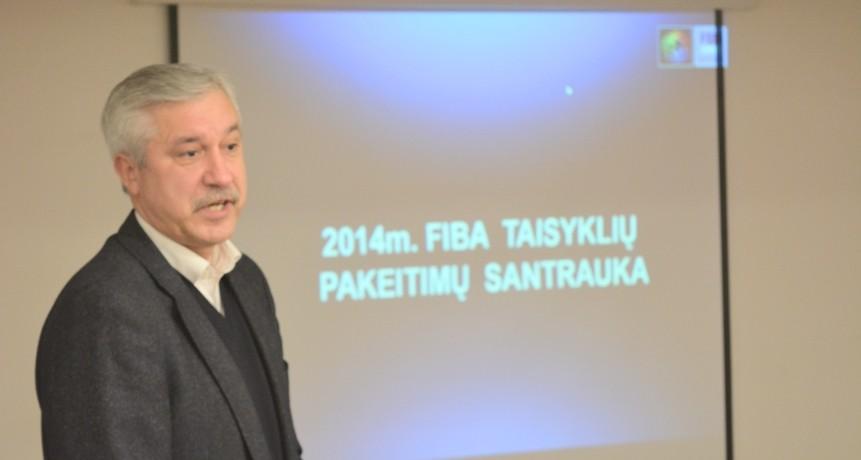 Seminare apie krepšinio taisykles – atradimai
