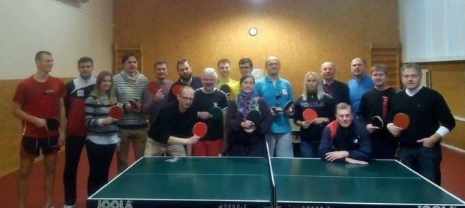 Stalo teniso čempionate – LSŽF prezidento pergalė