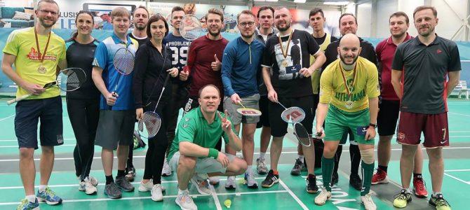 M. Vojevodinas apgynė LSŽF badmintono čempiono titulą