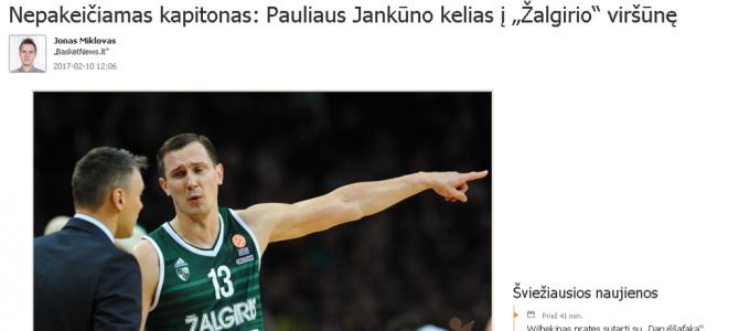 P.Jankūnas pranoko S.Stankų (geriausio vasario darbo rinkimų rezultatai)
