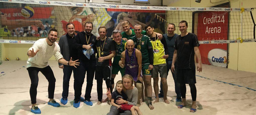 Paplūdimio tinklinio čempionate – M. Vojevodino ir R. Maurico pergalė