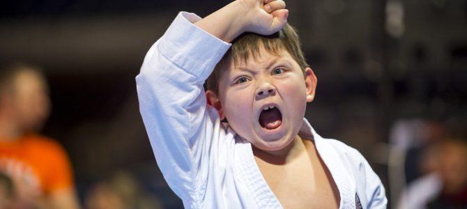 Geriausia lapkričio mėnesio sporto nuotraukoje – jaunasis karatė kovotojas