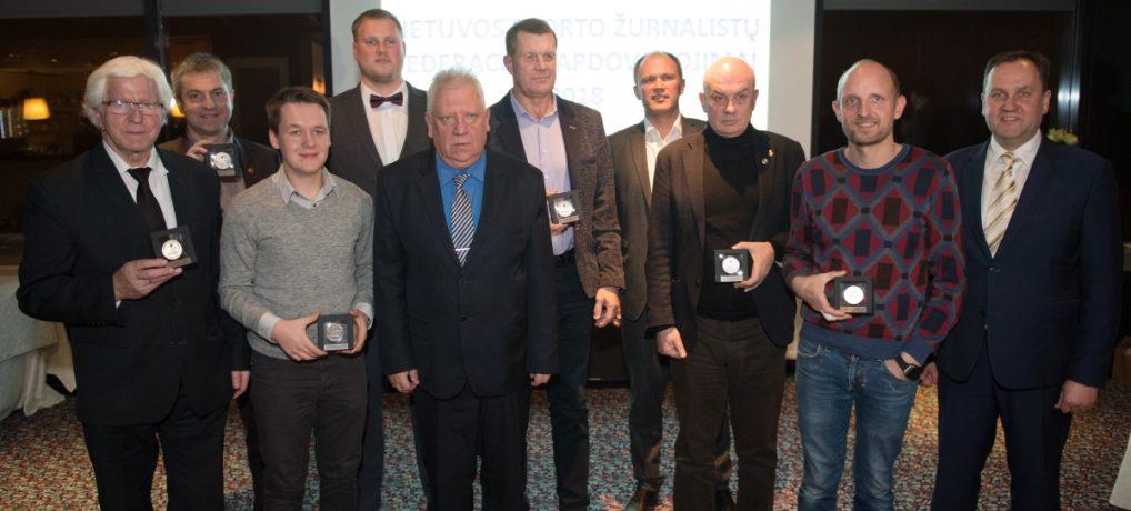 Sporto žurnalistai apdovanojo metų geriausiuosius
