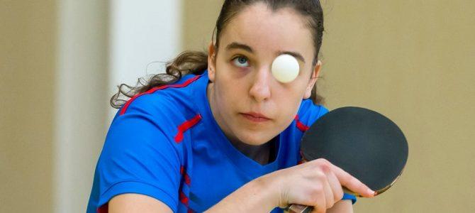 Geriausioje kovo mėnesio sporto nuotraukoje – stalo tenisininkė