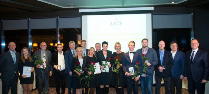Sporto žurnalistai pagerbė 2019 metų laureatus