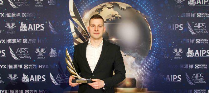 Sporto žurnalistui Mažvydui Laurinaičiui – pasaulinis įvertinimas